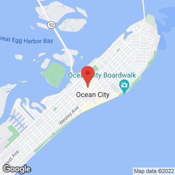 Map of Verizon Authorized Retailer – TCC at 854 Asbury Ave, Ocean City, NJ 08226