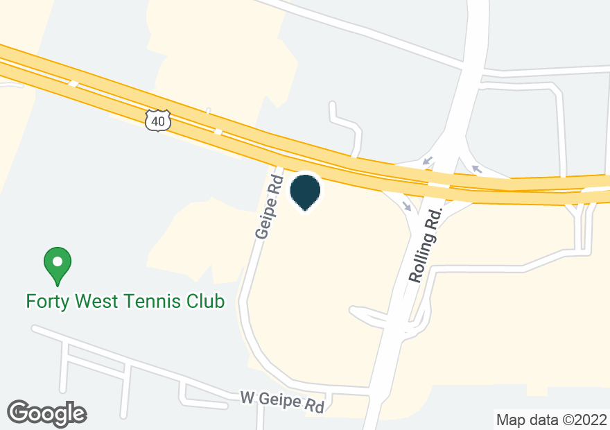 Google Map of6323 BALTIMORE NATIONAL PIKE