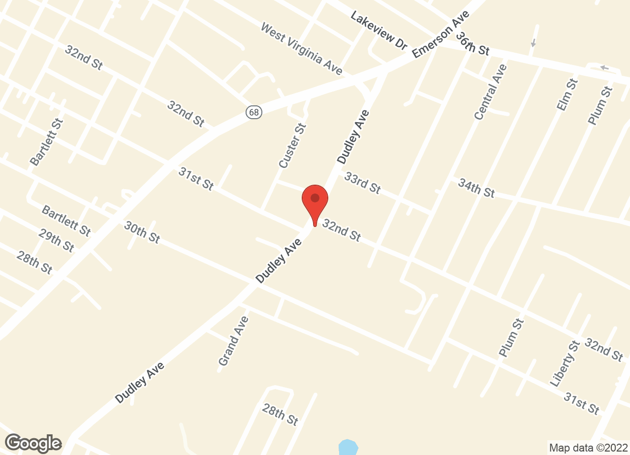 Google Map of VCA Dudley Avenue Animal Hospital