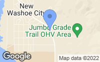 Map of New Washoe City, NV