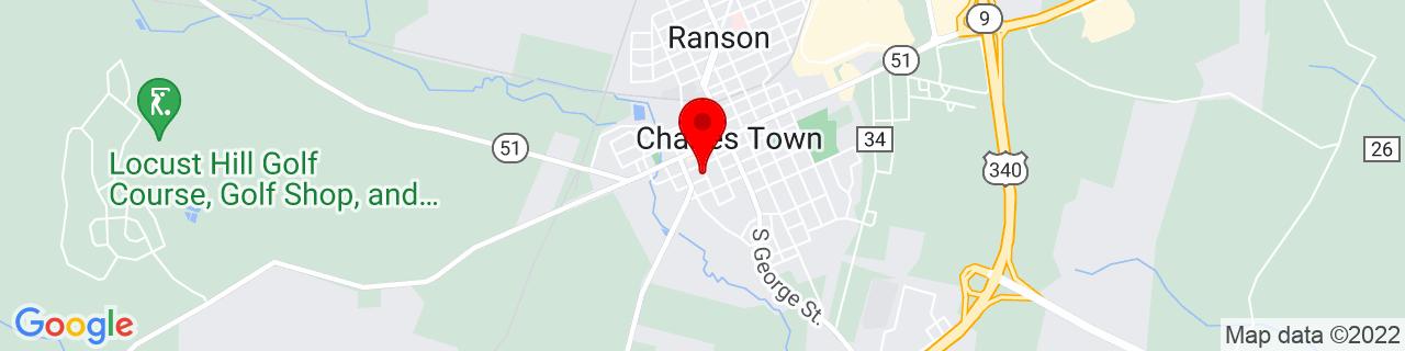 Google Map of 39.286809, -77.861846