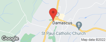 Map of 26217 Ridge Rd in Damascus
