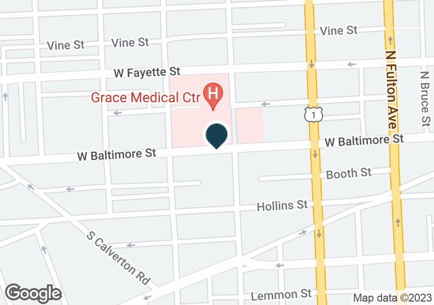 Google Map of2000 W BALTIMORE ST