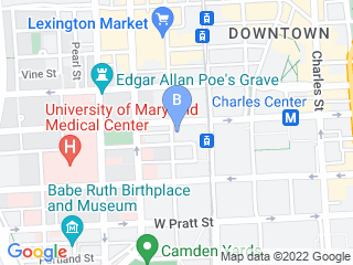 Map of Happy Dog Dog Boarding options in Baltimore | Boarding