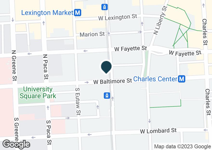 Google Map of6 N HOWARD ST