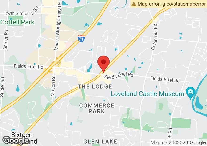 Google Map of 9520 FIELDS ERTEL RD