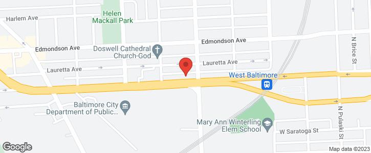 2512 W FRANKLIN ST Baltimore MD 21223