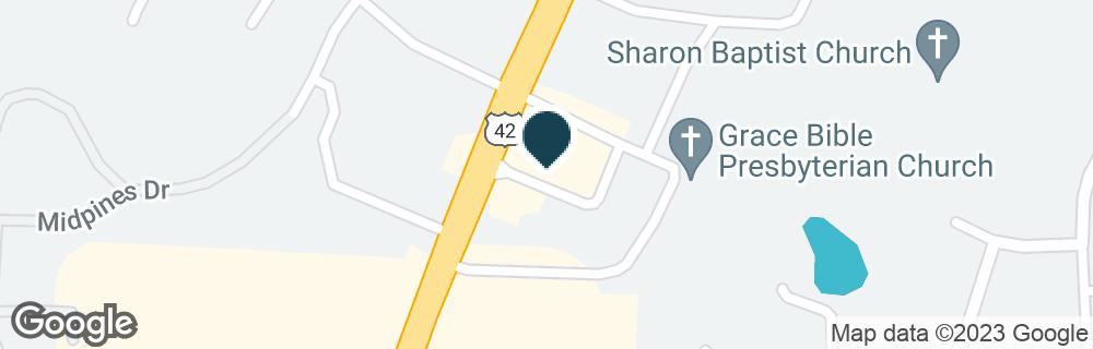 Google Map of12110 LEBANON RD