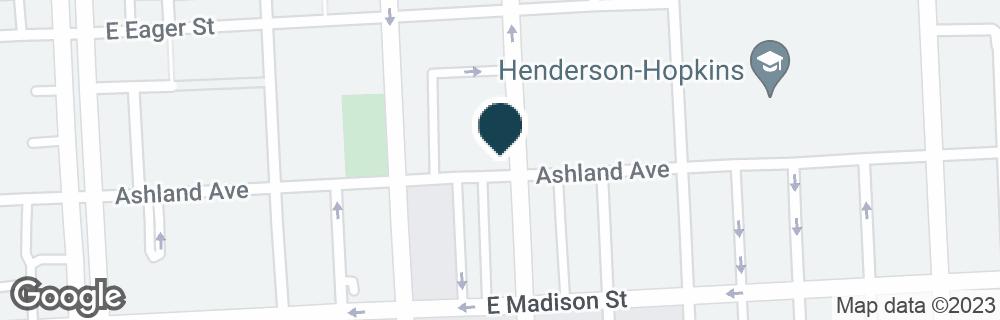 Google Map of900 N WASHINGTON ST