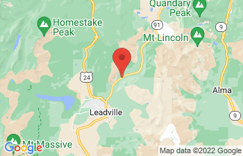 Map of Leadville
