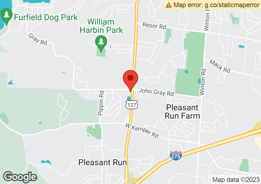 Google Map of 2335 JOHN GRAY RD