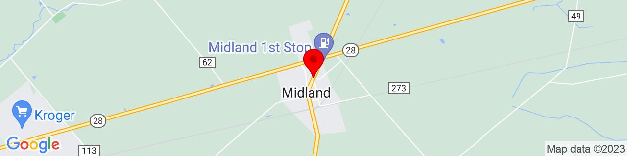 Google Map of 39.3081665, -83.909769
