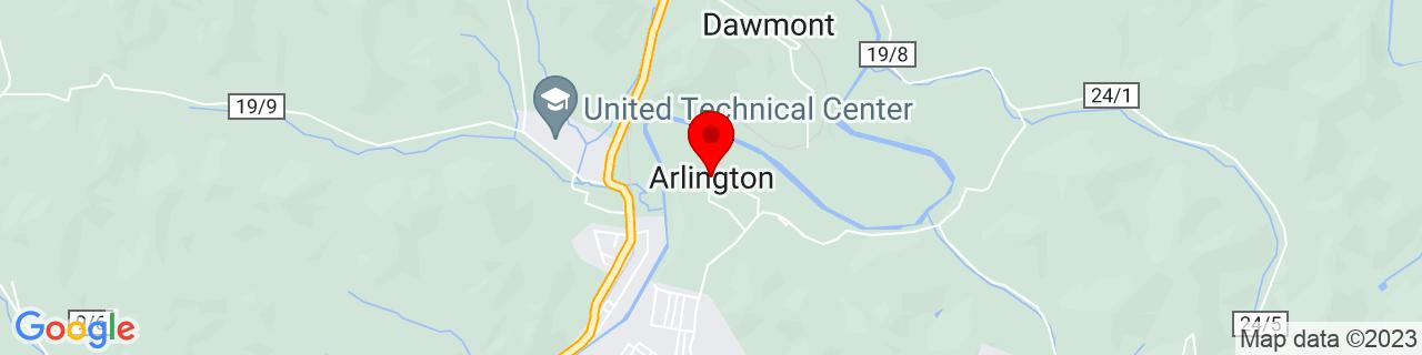Google Map of 39.30842, -80.34676