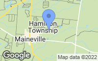 Map of Maineville, OH