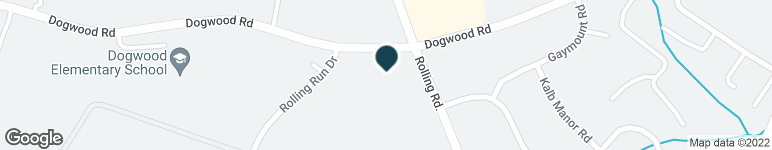 Google Map of2204 N ROLLING RD