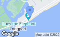 Map of Margate City, NJ