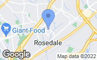 Map of Rosedale, MD