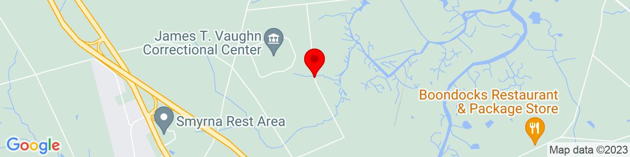Google Map of 39.3299683, -75.59254399999999