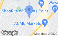 Map of Somers Point, NJ