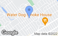 Map of Margate City, NJ