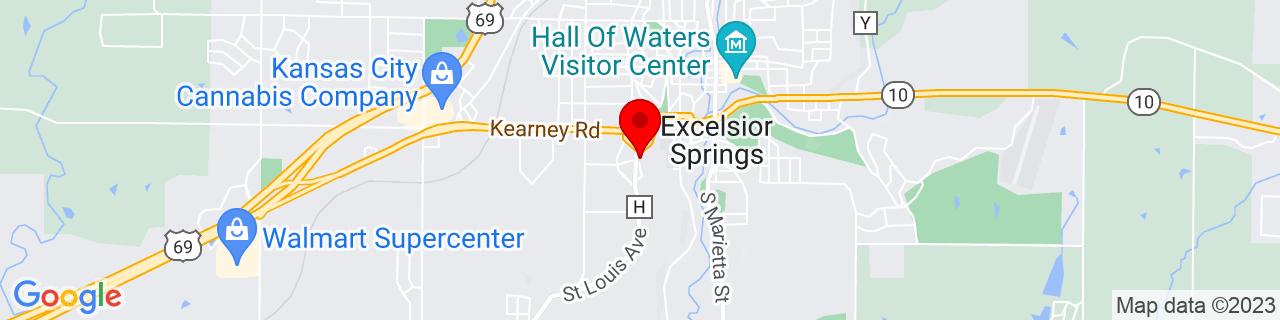 Google Map of 39.3363476, -94.23062739999999