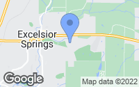 Map of Excelsior Springs, MO