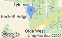 Map of West Chester Township, OH