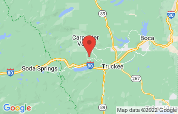 Map of Truckee