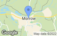 Map of Morrow, OH
