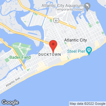 Map of Bass Pro Shops at 30 N Christopher Columbus Blvd, Atlantic City, NJ 08401