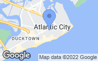 Map of Atlantic City, NJ