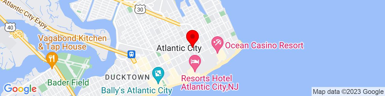 Google Map of 39.3642834, -74.4229266