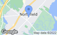 Map of Northfield, NJ