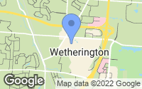 Map of Wetherington, OH