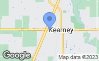Map of Kearney, MO