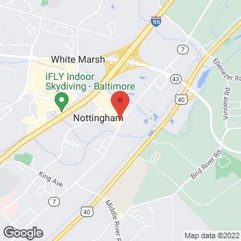 Map of Noodles & Company at 5350 Campbell Blvd, Baltimore, MD 21236