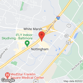 Map of Bed Bath & Beyond at 5210 Campbell Boulevard, White Marsh, MD 21236