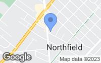 Map of Northfield, NJ