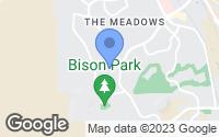 Map of Castle Rock, CO