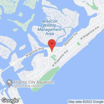 Map of Rite Aid at 4238 Harbor Beach Blvd, Brigantine, NJ 08203