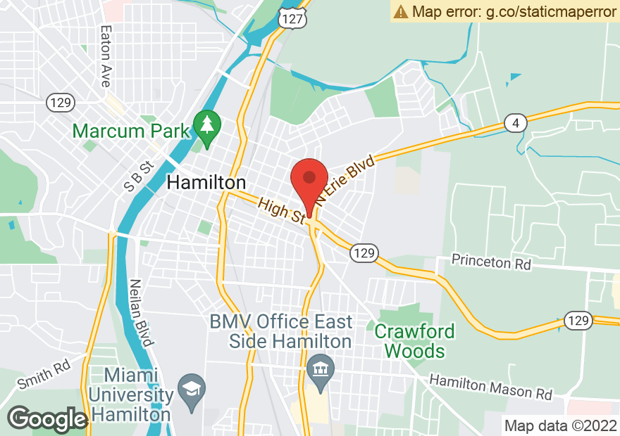 Google Map of 1090 HIGH ST