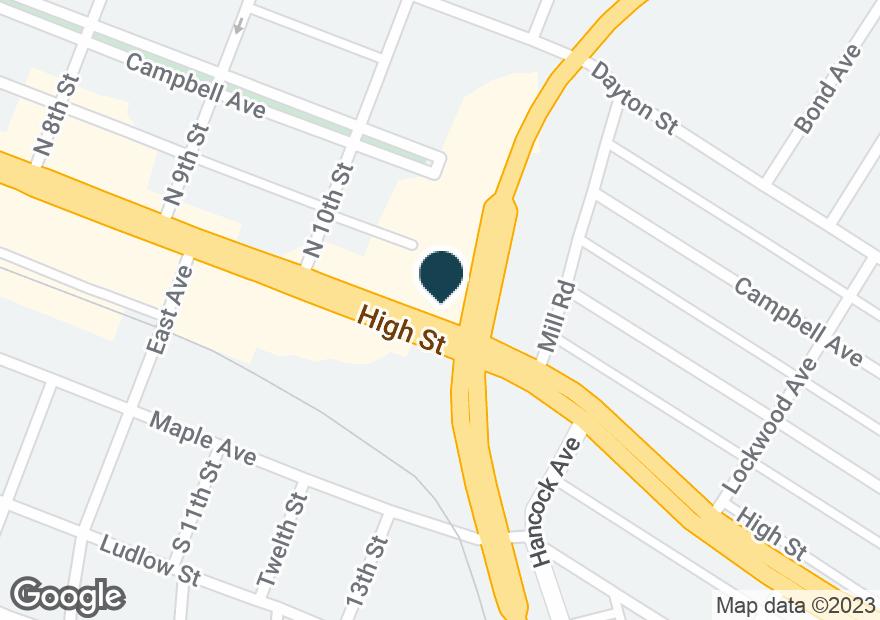 Google Map of1090 HIGH ST