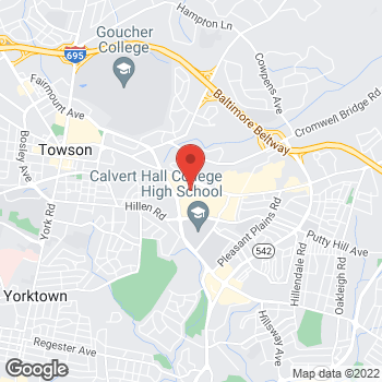 Map of Bed Bath & Beyond at 1238 Putty Hill Avenue, Towson, MD 21286