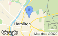 Map of Hamilton, OH
