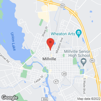 Map of Rite Aid at 907 North High Street, Millville, NJ 08332