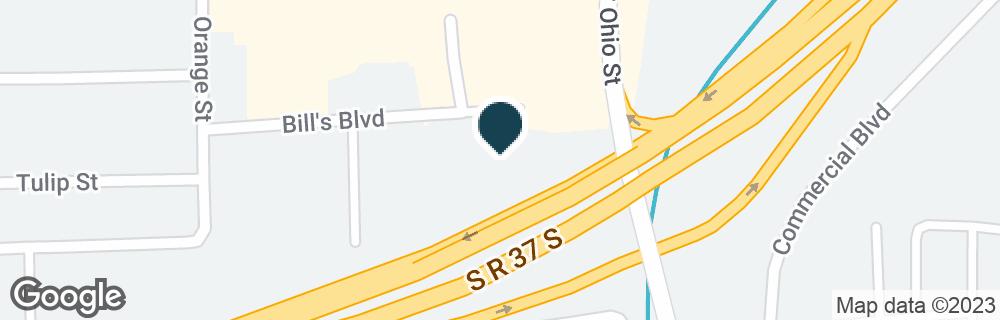 Google Map of1900 S OHIO ST
