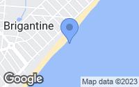 Map of Brigantine, NJ