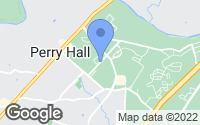 Map of Perry Hall, MD