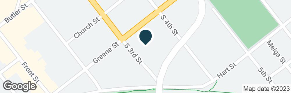 Google Map of300 GREENE ST