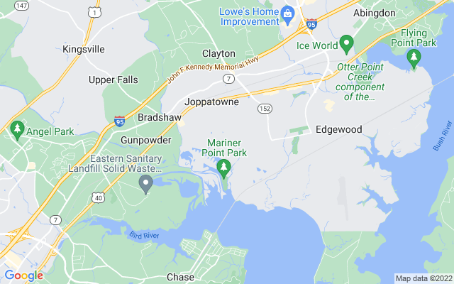 Joppatowne on the map
